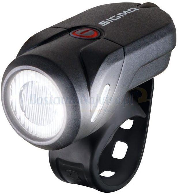 Przednia lampka akumulatorowa rowerowa światło LED Sigma Aura 35 USB
