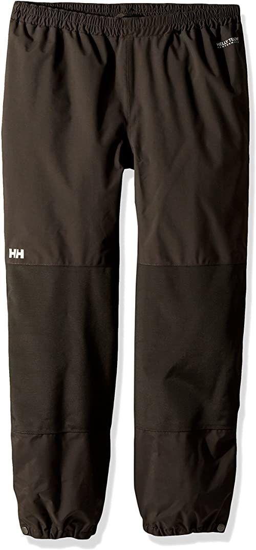 Helly Hansen dziecięcy schronisko wodoodporne lekkie wiatroszczelne oddychające spodnie, hebanowe, małe