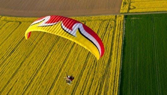 Lot paralotnią - Bielsko Biała