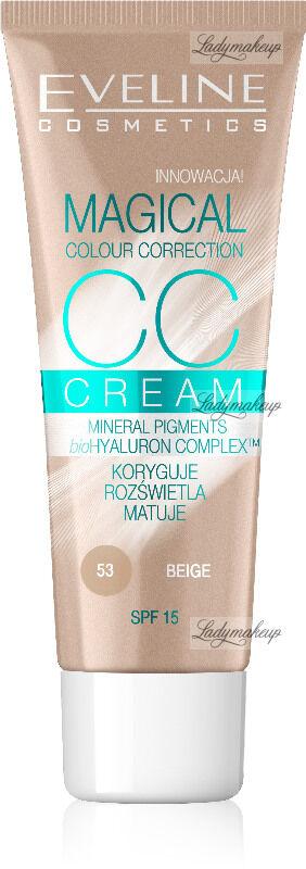 EVELINE - MAGICAL CC CREAM - Krem koloryzujący CC - 53 - BEIGE