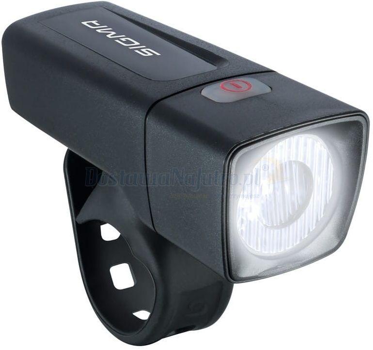 Przednia lampka akumulatorowa rowerowa światło LED Sigma Aura 25