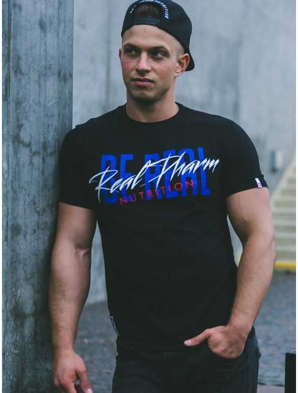 """Real Wear T-shirt """"Be Real"""" Neon"""