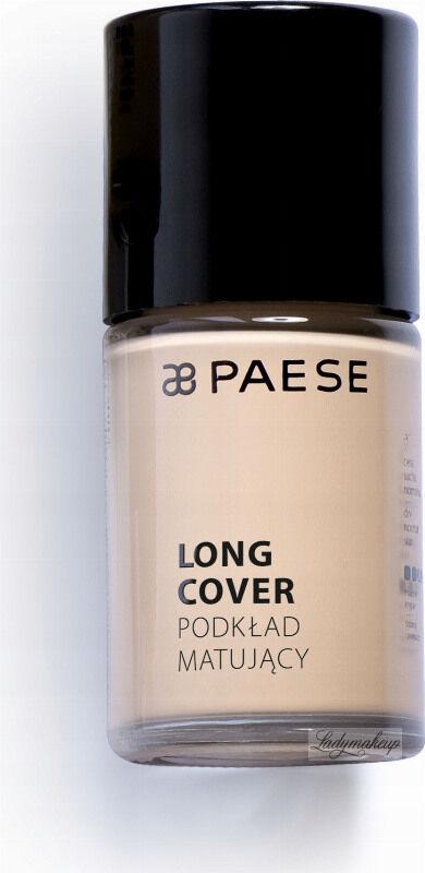 PAESE - LONG COVER - Podkład matujący - 03M