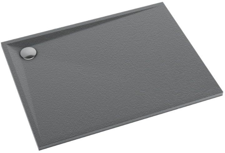 Schedpol Schedline Libra Anthracite Stone brodzik prostokątny 140x80x3cm 3SP.L2P-80140