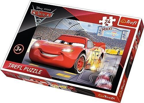 Puzzle dla dzieci Trefl 24 MAXI - Autka - Mistrz, Cars Champ