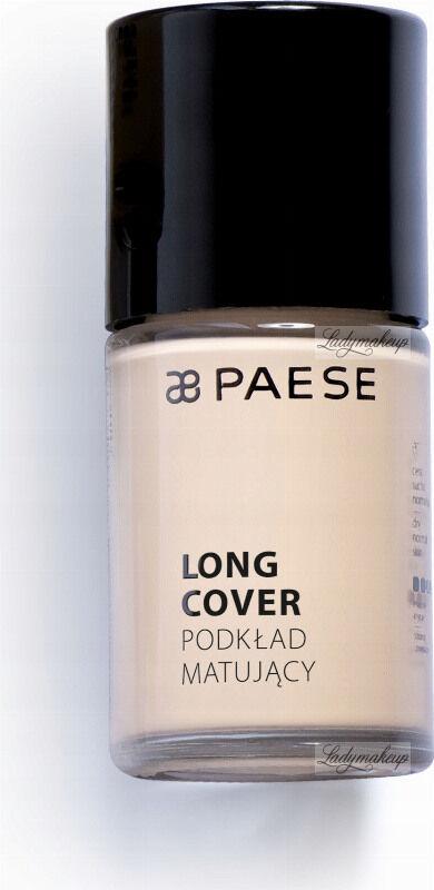 PAESE - LONG COVER - Podkład matujący - 01M