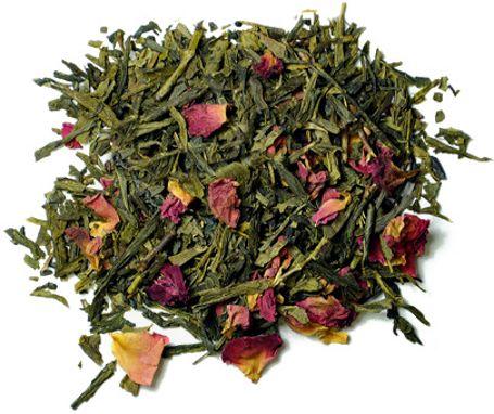 Herbata Sencha Sakura - wiśniowa zielona herbata 100g