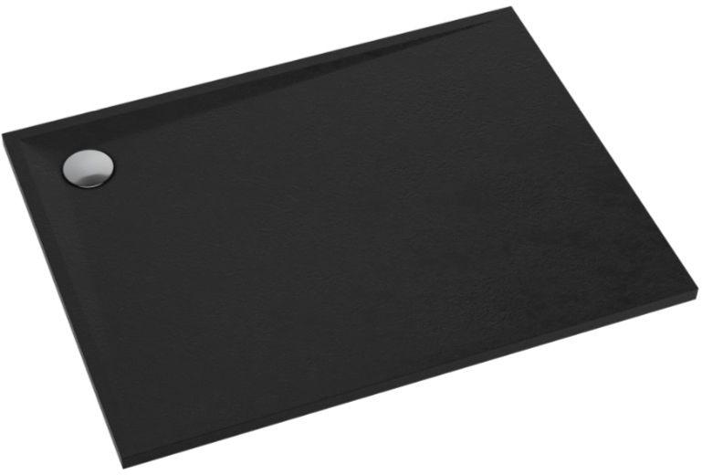 Schedpol Schedline Libra Black Stone brodzik prostokątny 90x80x3cm 3SP.L6P-8090