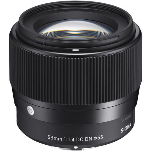 Sigma C 56mm f/1.4 DC DN - obiektyw stałoogniskowy do Sony E Sigma C 56mm f/1.4 DC DN / Sony E