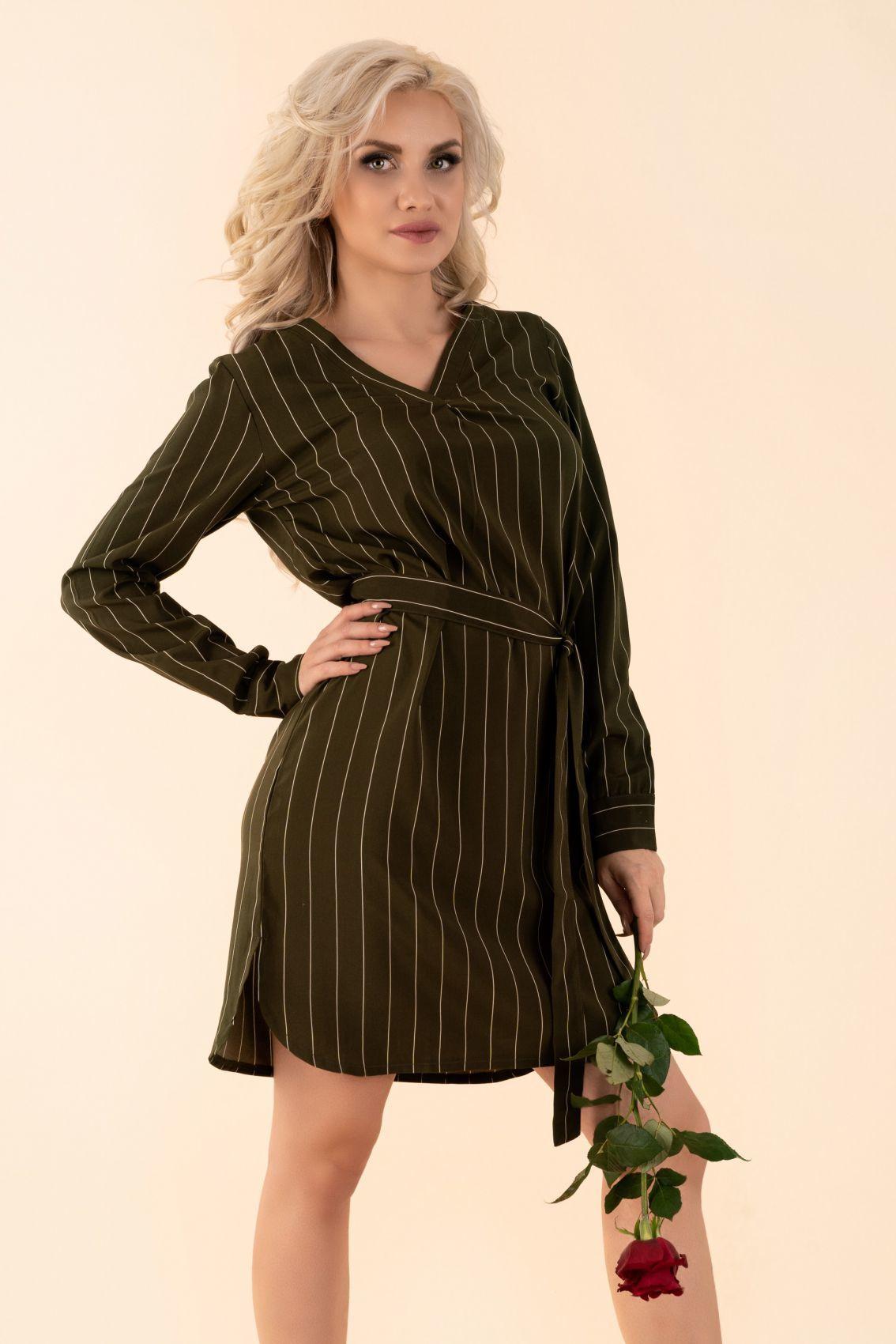 Miriae Khaki D90 sukienka