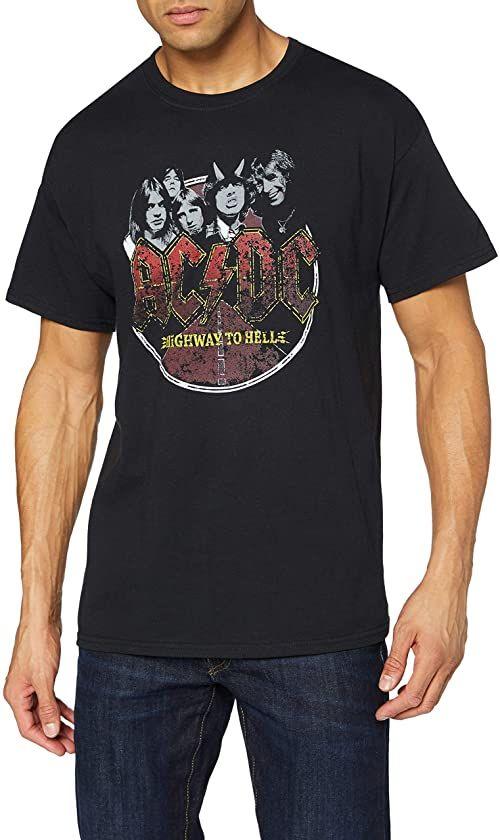 AC/DC męski T-shirt czarny About (05) 05-M