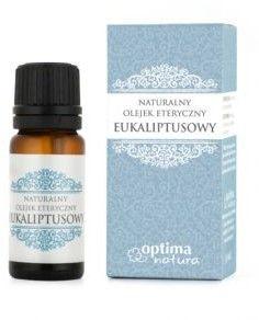 Naturalny olejek eteryczny na komary EUKALIPTUSOWY Optima Natura 10 ml