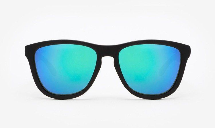 HAWKERS - Okulary przeciwsłoneczne Carbon Black Emerald One 018TR02