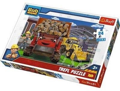 Puzzle dla dzieci Trefl 24 MAXI - Bob Budowniczy, Damy radę! Yes we can!