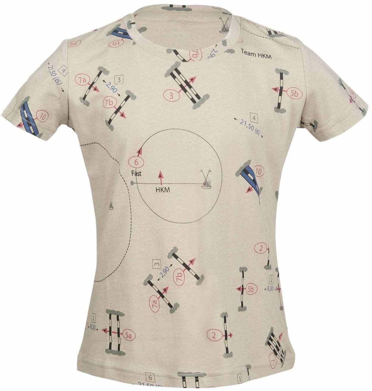HKM T-shirt dla dorosłych -San Luis Parcour-2500 beżowy98/104 spodnie, 2500 beżowy, 98/104