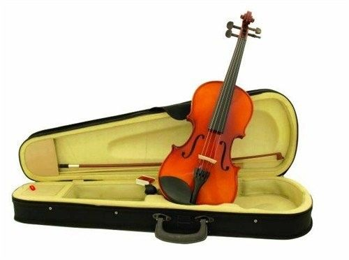 Dimavery Violin 4/4 with bow in case, skrzypce