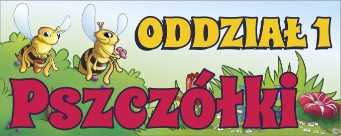 Tabliczka na drzwi - oddział Pszczółki