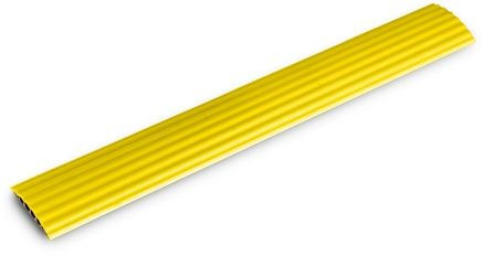 Adam Hall 85160YEL Defender Office najazd kablowy 4 kanały, do skrętki, DMX i innych kabli sygnałowych, kolor żółty