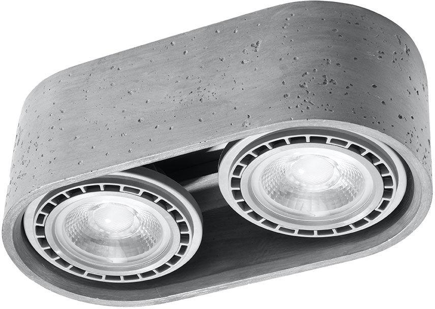 Industrialny plafon z betonu - EX681-Basis