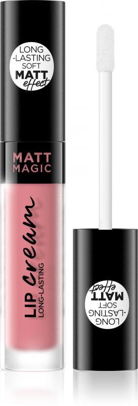 EVELINE - MATT MAGIC LIP CREAM - Matowa pomadka w płynie - 02 - CASHMERE NUDE