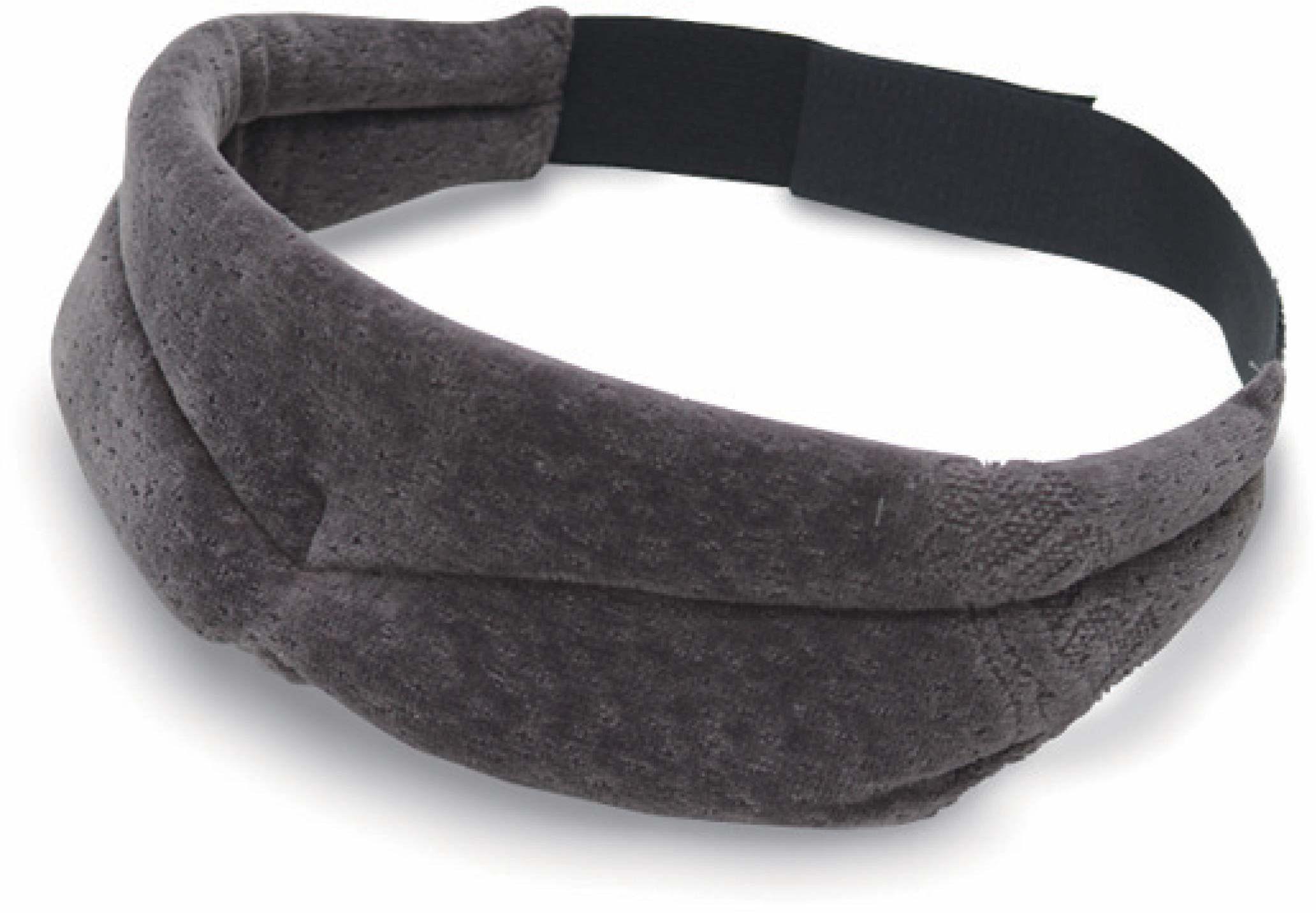 TEMPUR Maska do spania dla kobiet i mężczyzn, nieprzezroczyste, regulowane okulary do spania dla głębokiego relaksu