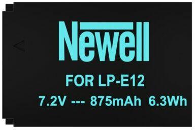 Akumulator NEWELL 875 mAh do Canon LP-E12