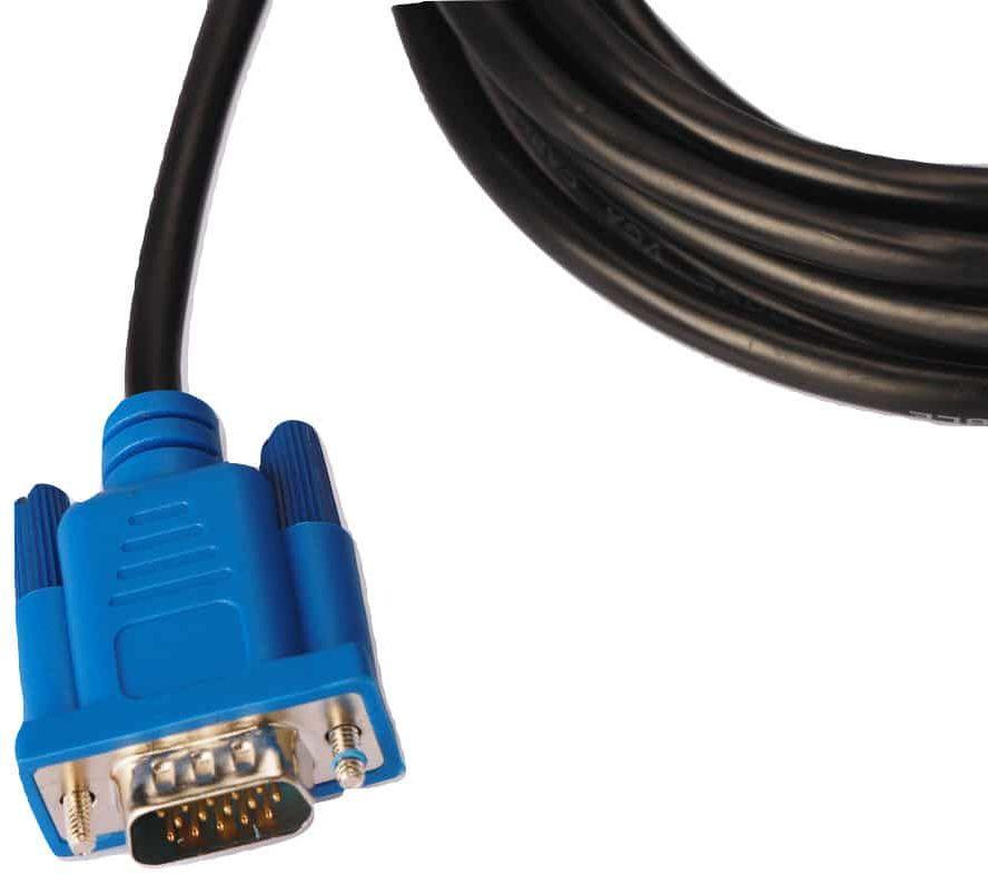 KABEL PRZEWÓD MONITOR D-SUB M/M HD VGA SVGA 3m M555048