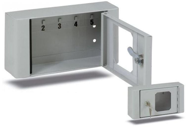 Szafka na klucze SRKL-6 okienko z pleksi
