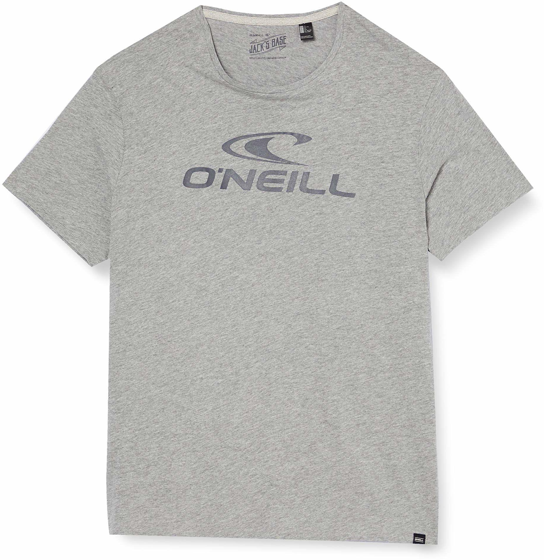 O''Neill męska koszulka Streetwear Shirt & bluzka O''neill T-shirt szary Silver Melee M