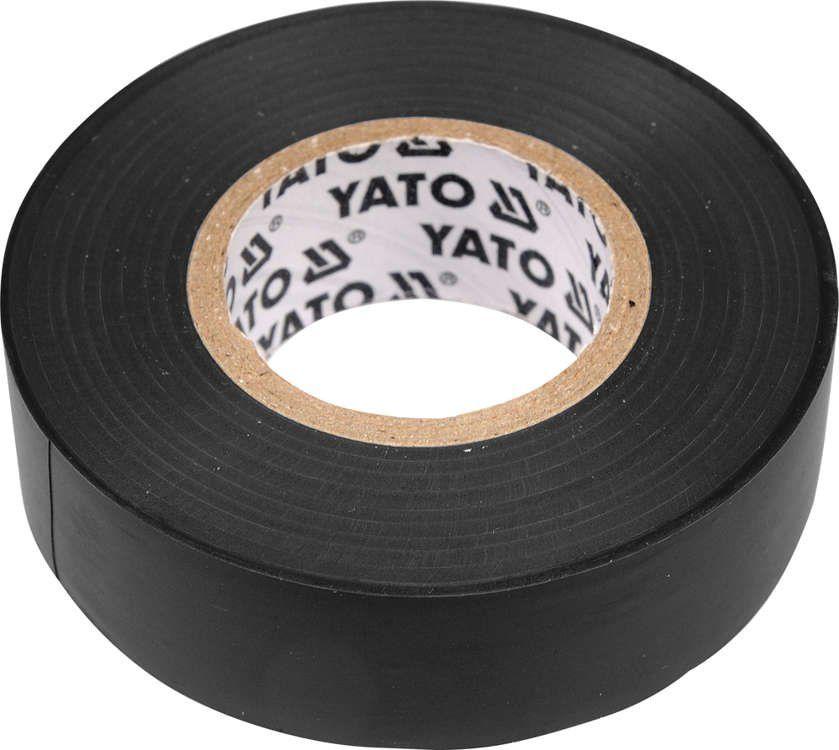 Taśma elektroizolacyjna 15mmx20mx0,13mm; czarna Yato YT-8159 - ZYSKAJ RABAT 30 ZŁ