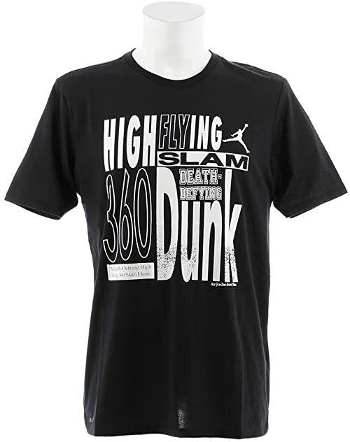 Nike Jordan High Flying T-shirt męski czarny Black/(White) X-L