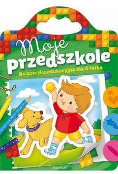 Moje przedszkole książeczka edukacyjna dla 4 latka