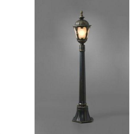 Lampa stojąca ogrodowa Tybr IP44 latarnia 4685 - Nowodvorski Do -17% rabatu w koszyku i darmowa dostawa od 299zł !