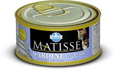 MATISSE CAT MOUSSE z sardynkami PUSZKI 12X85g.
