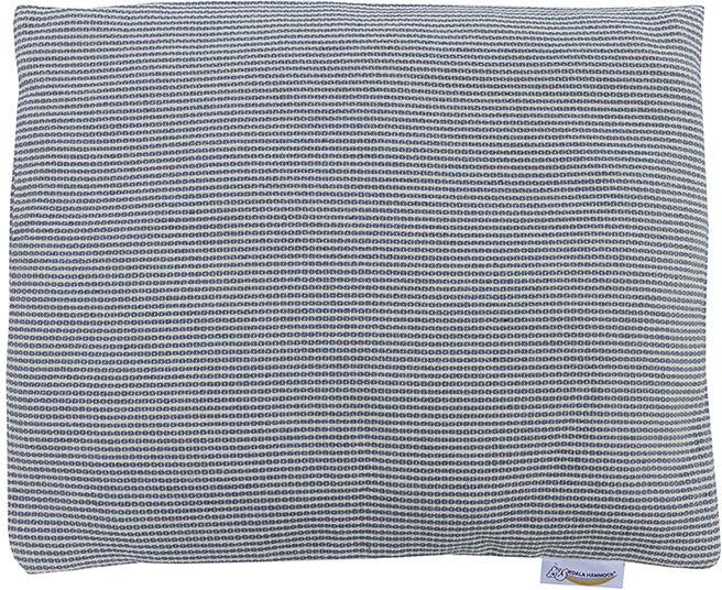 Poduszka hamakowa duża, biało-niebieski HP