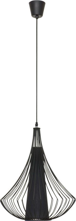 Lampa wisząca Karen 4607 Nowodvorski Lighting minimalistyczna czarna oprawa w nowoczesnym stylu