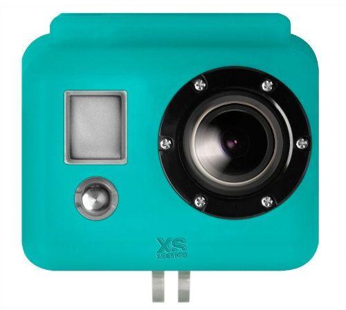 X-Sories Gopro silikonowy pokrowiec ochronny HD For Gopro, niebieski, SILG blue