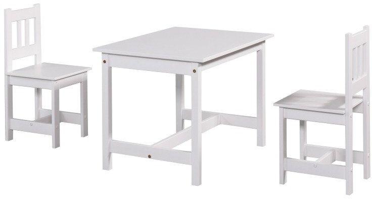 Biały stolik Junior 110-631-010-Pinio, meble do pokoju dziecięcego