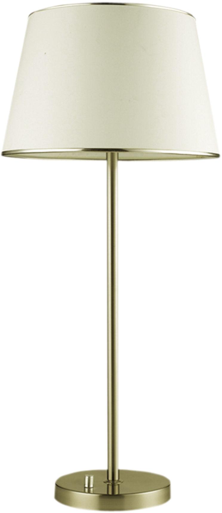 Candellux IBIS 41-01354 lampa stołowa abażur 1X40W E14 patyna 33cm