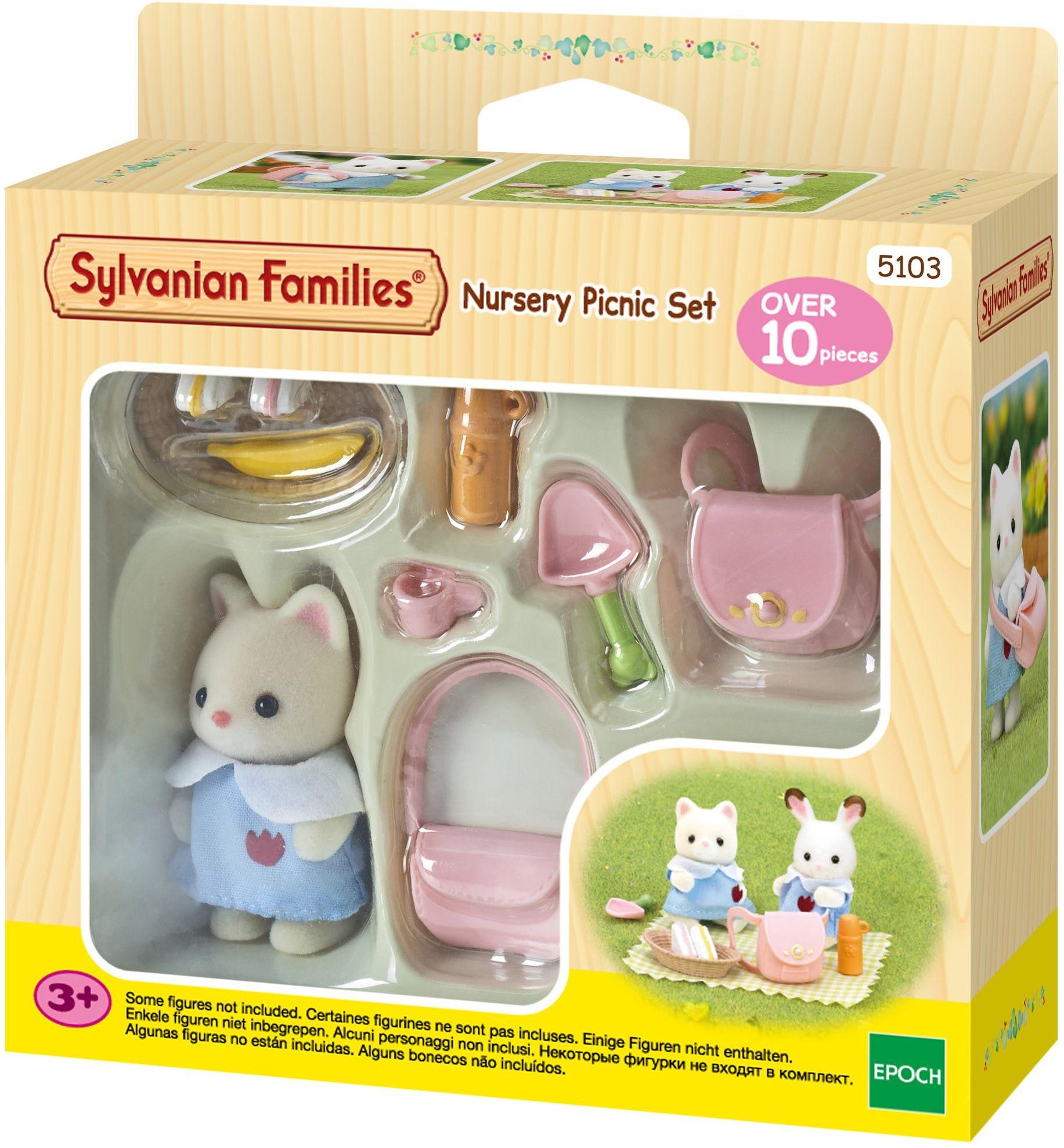 Sylvanian Families 5103 Przedszkolny zestaw piknikowy
