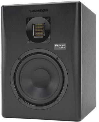 """Samson RXA6 Studio - aktywny monitor studyjny LF-6"""", HF - wstęgowy, XLR/JACK 1/4"""",RCA, MDF-kolor czarny"""