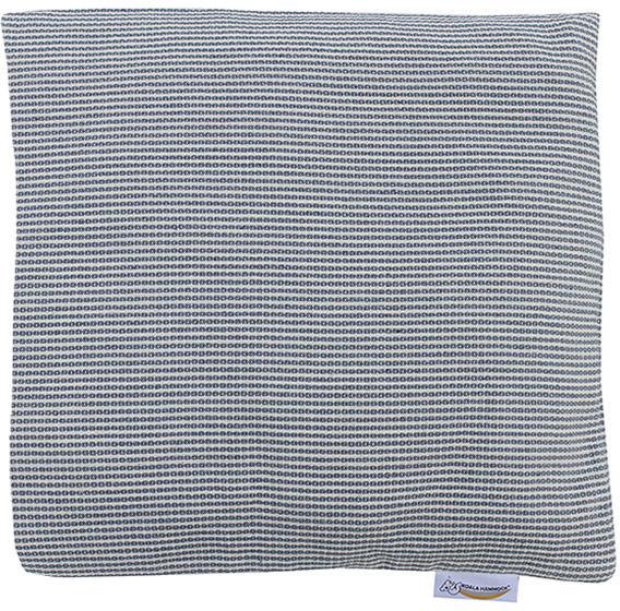 Poduszka hamakowa duża, biało-niebieski HP-3
