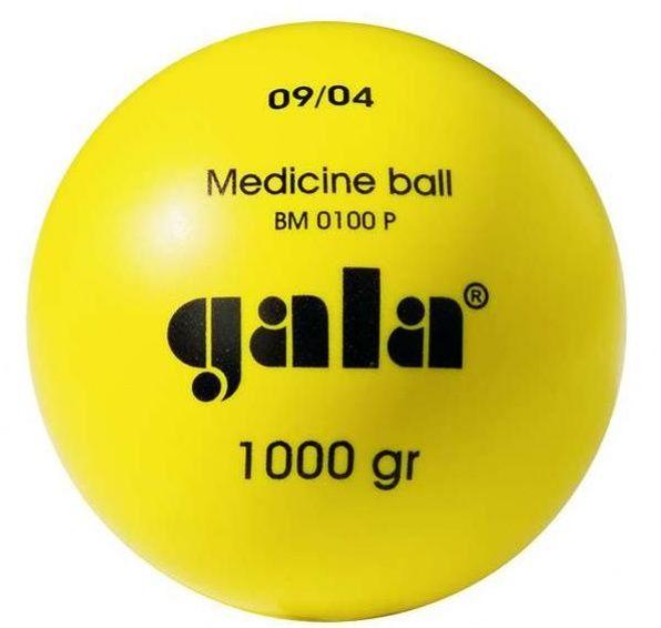 Plastikowa piłka lekarska 1 kg