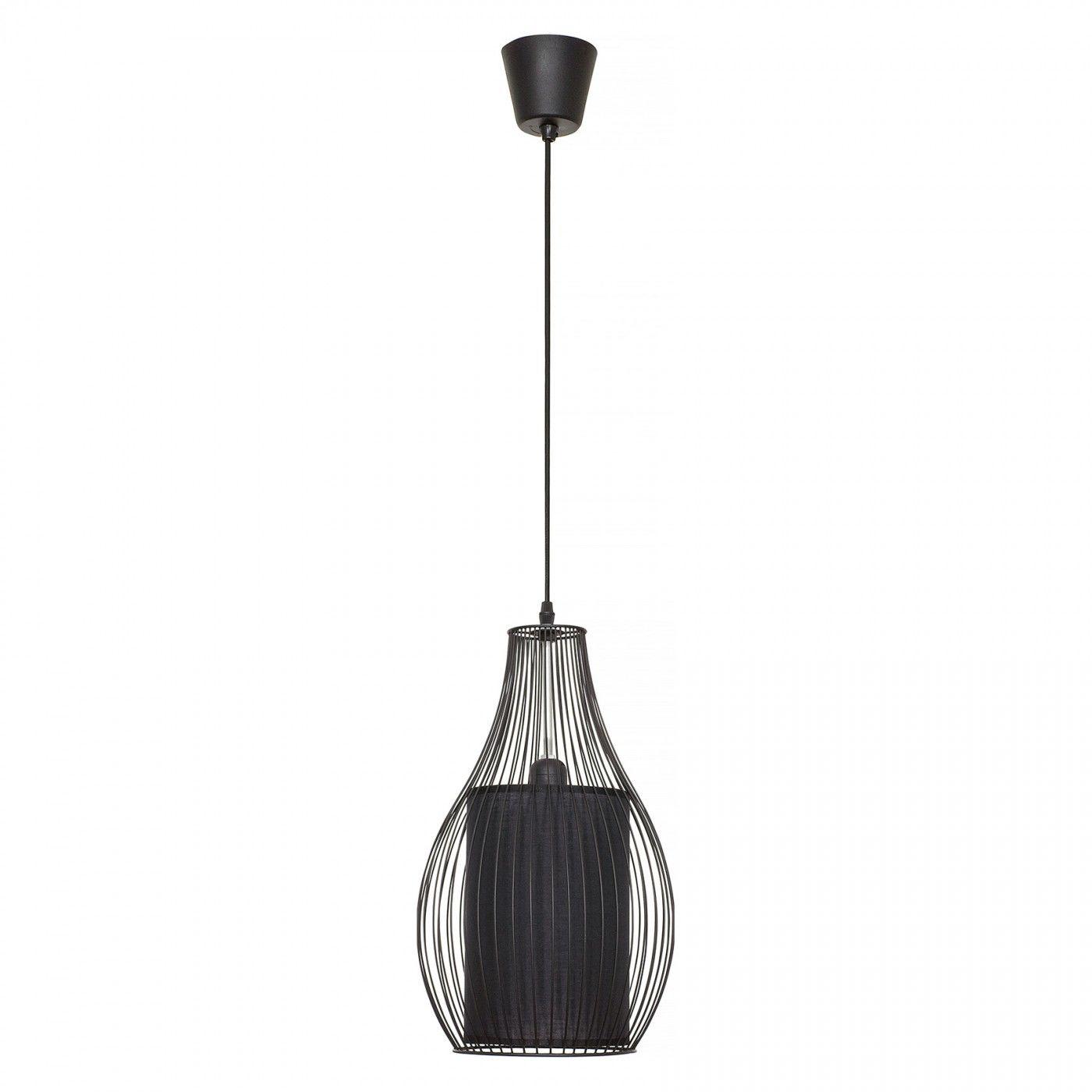 Lampa wisząca Camilla 4610 Nowodvorski Lighting nowoczesna druciana oprawa w kolorze czarnym