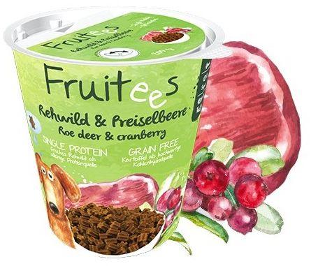 Bosch Fruitees Snack Sarna & Żurawina 200g