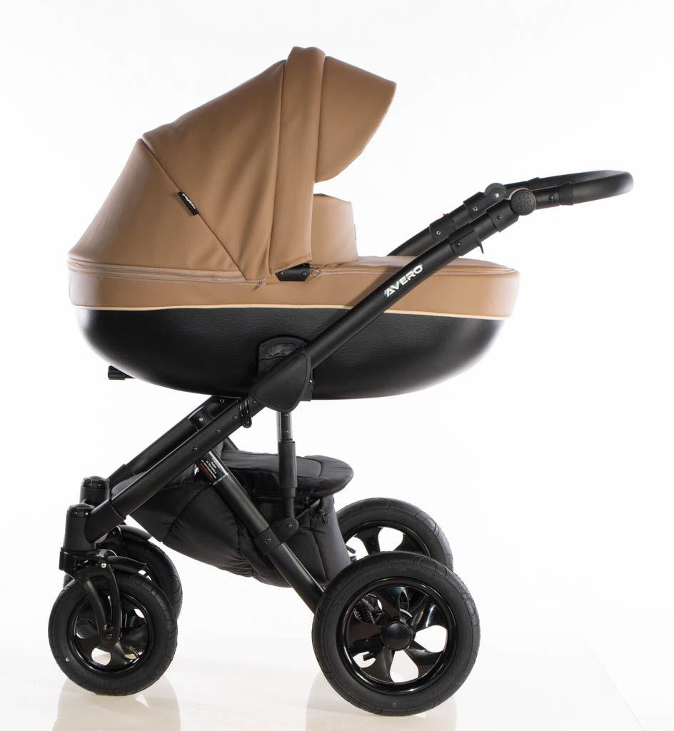 Avero II - kol. Camel - 3w1 - Wózek dziecięcy - Kajtex