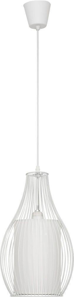 Lampa wisząca Camilla 4611 Nowodvorski Lighting nowoczesna druciana oprawa w kolorze białym