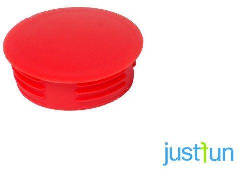 Zaślepka wciskana 35 mm - czerwony