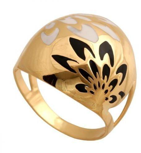 Złoty pierścionek nowoczesny Pn143