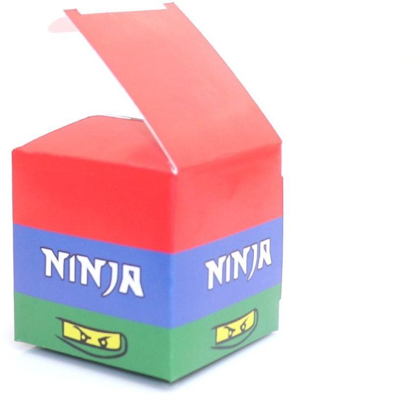 Pudełeczka dla gości Ninja - 6 szt.